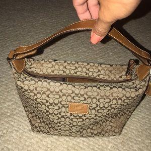 Vintage Coach bucket bag!!